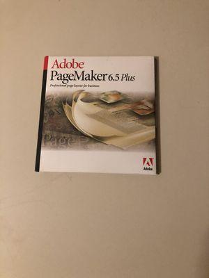 Adobe Pagemaker 6.5 Plus for Sale in Fairfax, VA