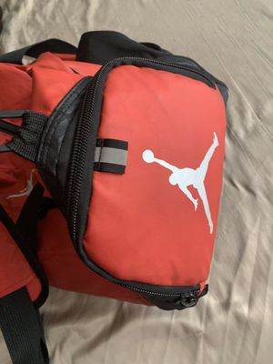 Jordan gym bag with shoe compartment for Sale in Alexandria, VA