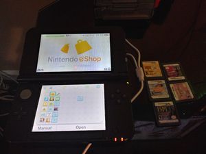 Nintendo 3ds xl with games for Sale in Columbus, OH