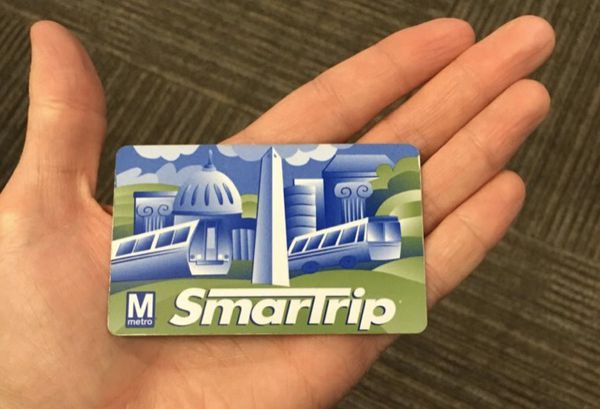 DC Smartrip metro card $377 value for $330