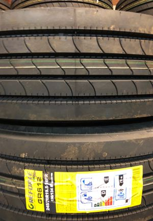 215/70r17.5 18ply tires. Low boy trailer for Sale in Los Angeles, CA