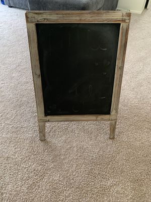 Large Standing Chalkboard for Sale in North Little Rock, AR