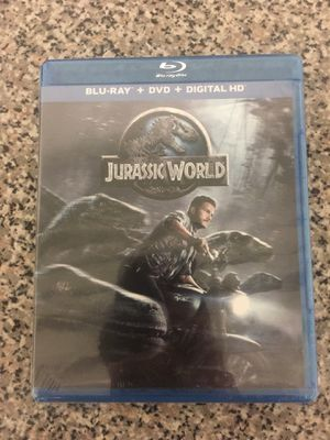 Jurassic World BluRay/DVD combo (unopened) for Sale in Alexandria, VA