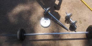 Weight set come get it!! Make your offer!! for Sale in East St. Louis, IL