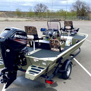 2019 Tracker Grizzly CC 1860 MVX for Sale in Modesto, CA