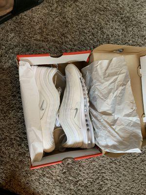 Nike AirMax 97 Triple White for Sale in Nashville, TN