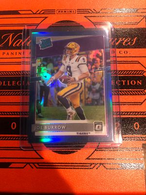 Donruss Optic Blue Parallel Joe Burrow Rated Rookies for Sale in Miami, FL
