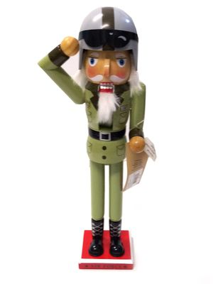 Holiday Lane Military Green Nutcracker for Sale in Norfolk, VA