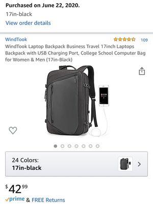 Laptop Backpack 17inch for Sale in Phoenix, AZ
