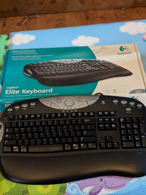 Logitech elite keyboard used for Sale in Los Angeles, CA