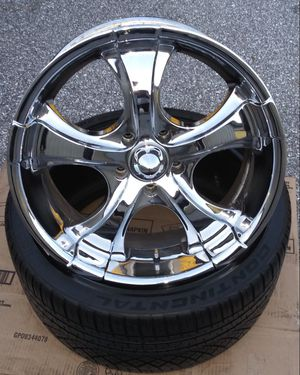 """20"""" AMERICAN RACING RIMS & TIRES SET for Sale in Pinellas Park, FL"""