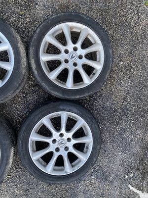 2006 - 2008 Acura TSX wheels w/ tires for Sale in Margate, FL