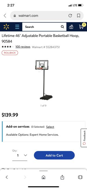 Basketball hoop for Sale in Cary, NC