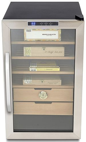 Stainless Steel 2.5 cu. ft. Cigar Cooler Humidor for Sale in Henderson, NV