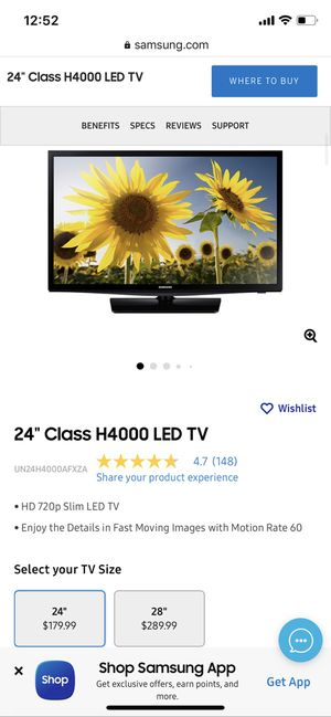 """24"""" LED TV for Sale in Daly City, CA"""