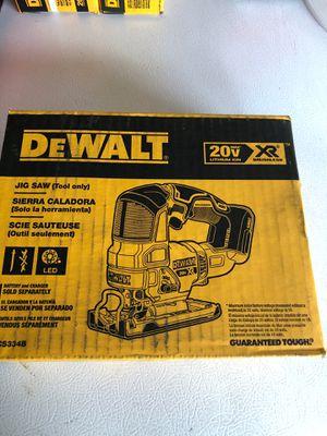 Brand new Dewalt XR jigsaw for Sale in Denver, CO