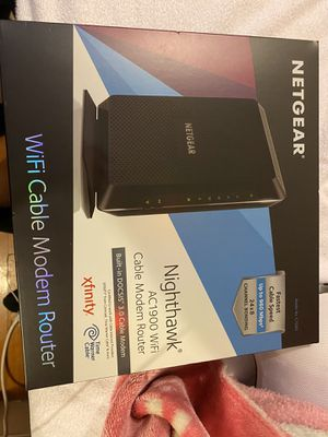 Nighthawk AC1900 Wifi Cable Modem Router for Sale in Chelsea, MA