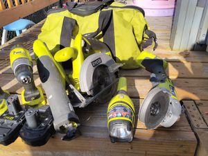 Ryobi 18v one plus cordless tools set for Sale in Longmont, CO