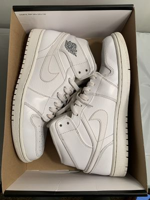 Air Jordan 1 Mid White/Cool Grey 10.5 for Sale in Bakersfield, CA