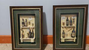 2 3D wine pictures for Sale in Portland, OR