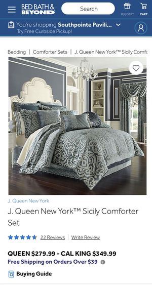 J. Queen New York bedding for Sale in Lincoln, NE