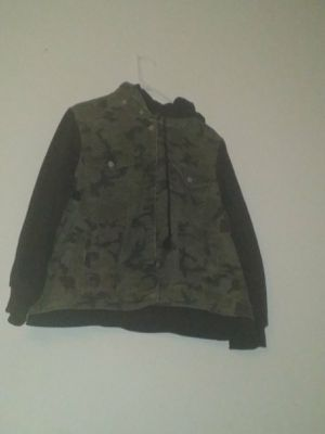 New hoodie Jean jacket size xxl for Sale in Commerce City, CO
