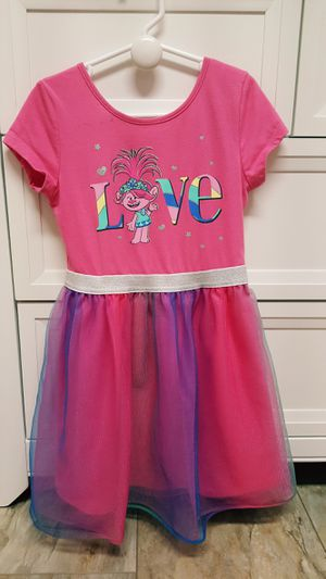 Trolls dress, size 6 for Sale in San Diego, CA