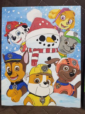 Paw Patrol painting for Sale in Gaithersburg, MD
