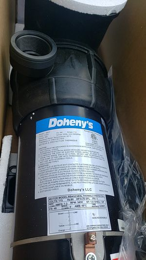 Doheny's 7.5hp aboveground pool pump for Sale in Millville, NJ