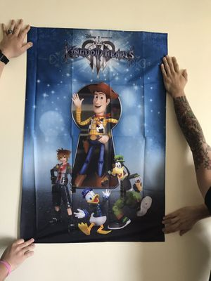 Kingdom hearts canvas popster for KH fans for Sale in Miami Lakes, FL