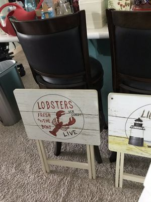 Beach theme TV trays for Sale in Ocean Shores, WA