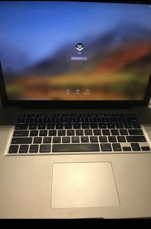 MacBook Pro 15 mid 2012!!! 2.3 i7 8gb ram!!! 500gb he for Sale in Brooklyn, NY