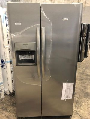 Frigidaire 25.5 cu. ft Side-by-Side Refrigerator Full one year Warranty-take home for $40 down EZ FINANCING for Sale in West Miami, FL
