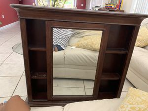 Moving Mirror with shelfs for Sale in Miami, FL