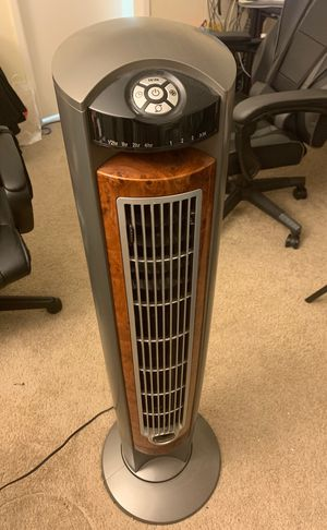 "Lasko 42"" tower fan with remote for Sale in Burlingame, CA"