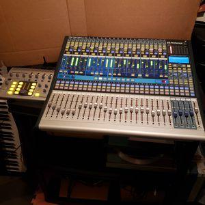 Studio Live Digital Mixer 24.4.2 and PreSonus Monitor Station for Sale in Washington, DC