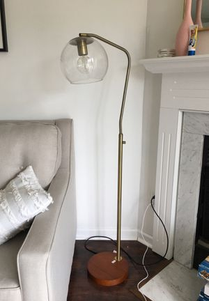 Brass floor lamp for Sale in Cranberry Township, PA