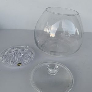 Princess House 3 Pc Crystal Bowl And Flower Arranger for Sale in Long Beach, CA