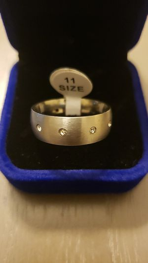 Men's size 11 wedding band for Sale in Morrisville, NC