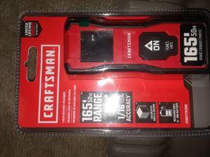 Craftsman measuring tape in laser measure for Sale in Homeland, CA