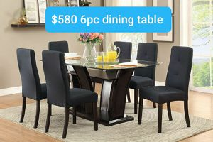 Beautiful 6pc dining table for Sale in La Verne, CA