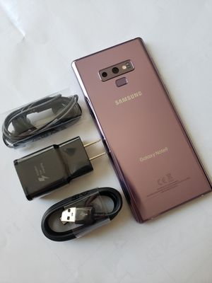 Samsung Galaxy Note 9 , Unlocked for All Company Carrier,  Excellent Condition like New for Sale in Springfield, VA