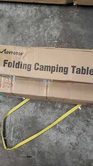 Folding camping table for Sale in Montclair, CA