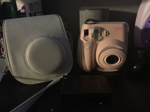 Instax 7s with case and pack of film for Sale in Chicago, IL