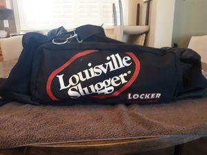 Louisville Slugger Deluxe Locker equipment bag baseball black for Sale in Chandler, AZ