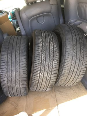 Tires 195/60/16 only 3 for Sale in Ceres, CA