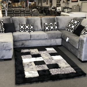 Gray Sofa Sectional American 🇺🇸 Custom Made for Sale in Fresno, CA