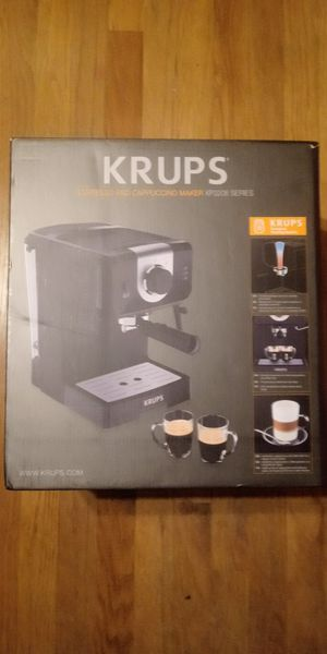 Krups espresso cappuccino machine for Sale in Murfreesboro, TN