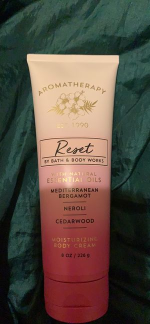 Reset Aromatherapy body cream for Sale in Avis, PA