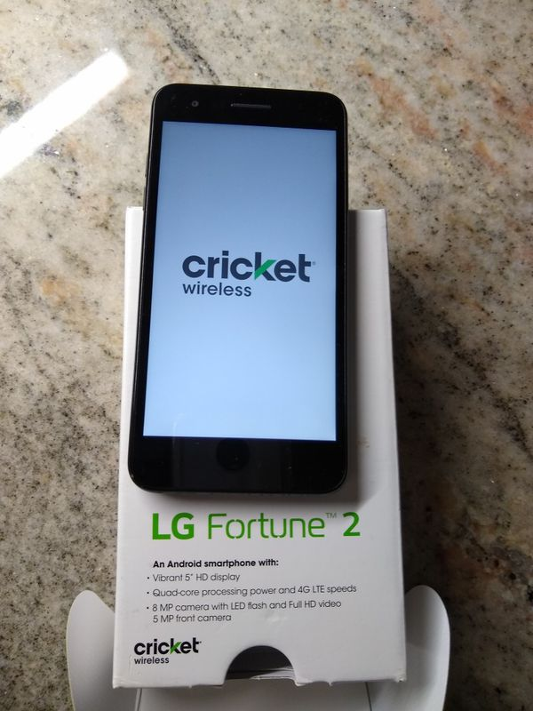 LG Fortune 2 Cricket Only